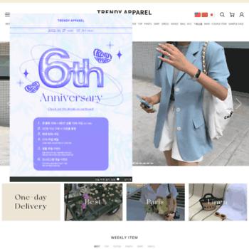 Trendy-apparel.co.kr thumbnail