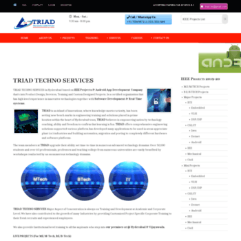 Triadtechnoservices.com thumbnail