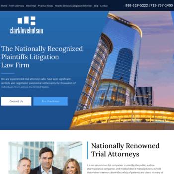 Triallawfirm.com thumbnail