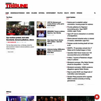 Tribuneonlineng.com thumbnail
