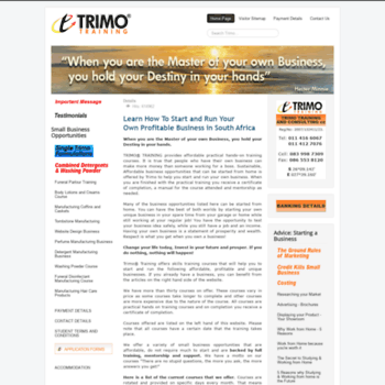 Trimo.co.za thumbnail