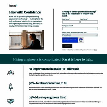 triplebyte com at WI  Triplebyte: Software Engineer Job Search