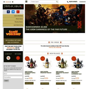 triplehelixwargames co uk at WI  Wargaming Store | Discount