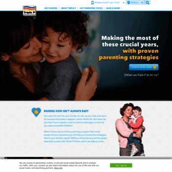 Triplep-parenting.net thumbnail
