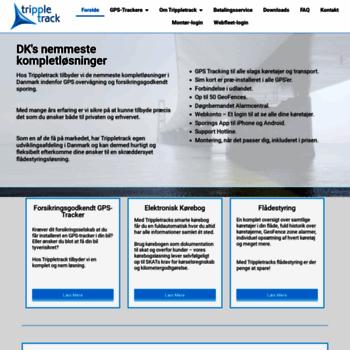 Trippletrack.dk thumbnail