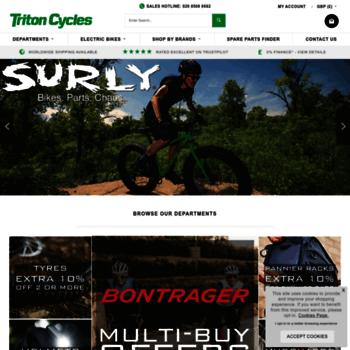 Tritoncycles.co.uk thumbnail