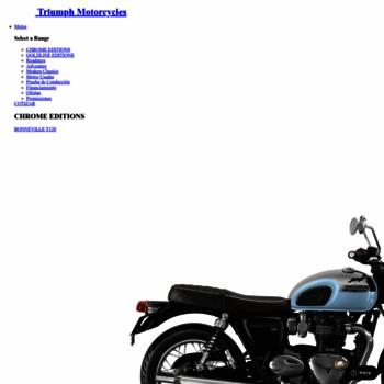 Triumphmotorcycles.cl thumbnail