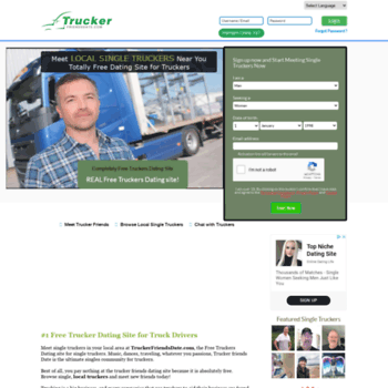 Online dating for truckers
