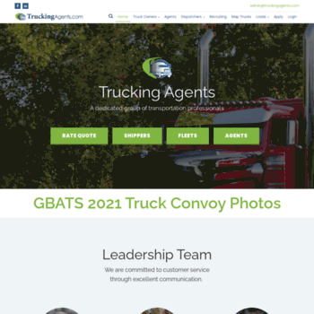 truckingagents net at WI  Trucking Agents : Professional Dispatch