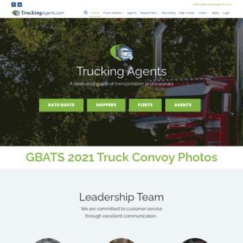truckingagents net at WI  Trucking Agents : Professional
