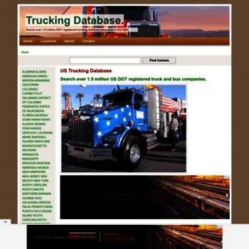 trucking database