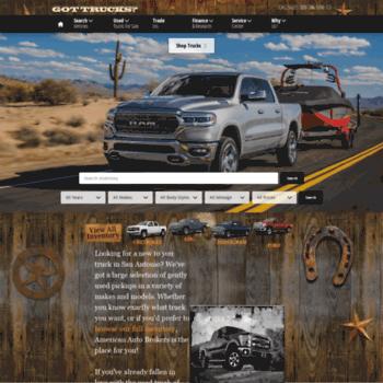 American Auto Brokers >> Trucksintexas Com At Wi American Auto Brokers Used Truck