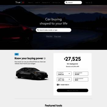Truecar Used Cars >> Truecar Com At Wi Car Prices Owner Reviews Inventory New
