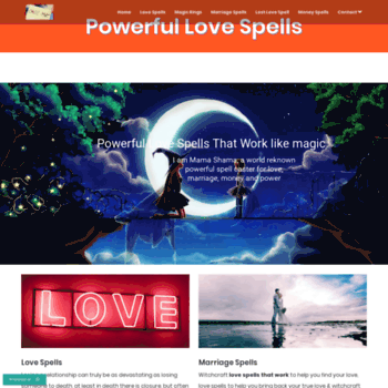 truelovecaster com at WI  Bring back Lost Love Spells | Free