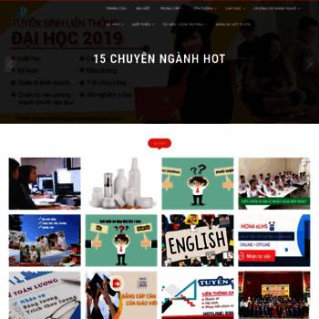 Trungcapphuongnam.edu.vn thumbnail