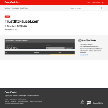 trustbtcfaucet com at WI  Free bitcoins every 5 minutes!Join