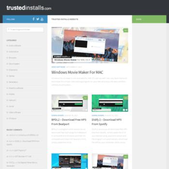 trustedinstalls com at WI  Trusted Installs Website – Free