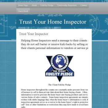 Trustyourinspector.org thumbnail