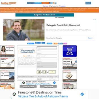 Tseamcet.testbag.com thumbnail