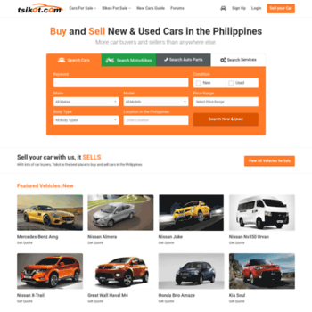 Tsikot Net At Wi New And Used Cars For Sale Tsikot Philippines 1