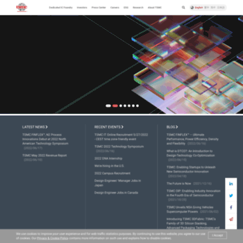 tsmc com at Website Informer  Visit Tsmc