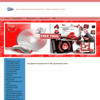 tulaschool29 ru at WI  All physics formulas free of 12th quadrennial