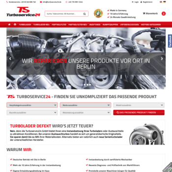Turboservice24.de thumbnail