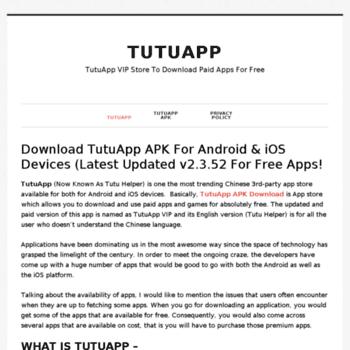 Tutuappapkdownload.net thumbnail