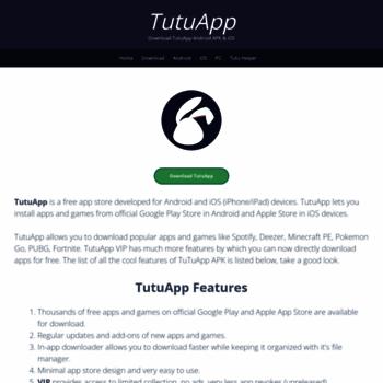 tutuappx com at WI  TutuApp | Download TutuApp Android APK & iOS
