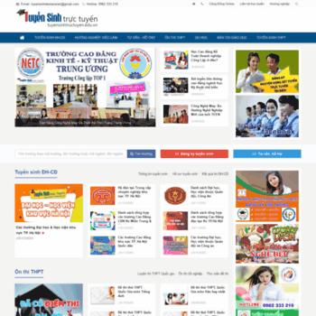 Tuyensinhtructuyen.edu.vn thumbnail