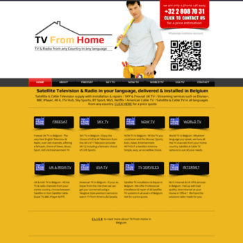Tv-from-home.com thumbnail