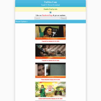 tvhits in at WI  Tamil Tv Shows Download Tamil Tv Serials