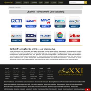 tvonline indoxx1 com at WI  TV Online Streaming Gratis, Terlengkap