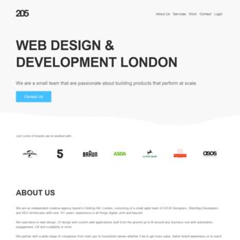 twenty5media com at WI  Web Design London - Creative Agency