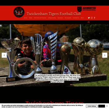 twickenhamtigers co uk at WI  Twickenham Tigers FC