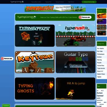 Typinggames.zone thumbnail