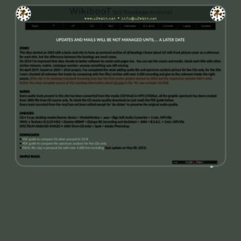 u2wkbt net at WI  U2 Bootlegs Archive