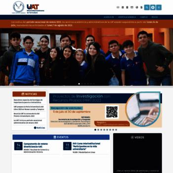 Uat.edu.mx thumbnail