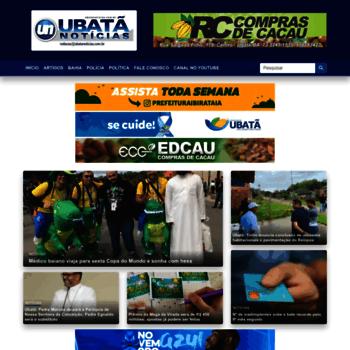 Ubatanoticias.com.br thumbnail
