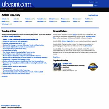 uberant com at WI  Article Directory | Uberant