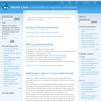 Ubuntux.org thumbnail