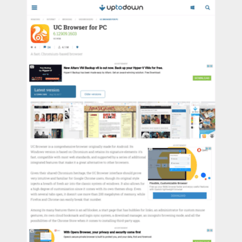 uc-browser-pc en uptodown com at WI  Download uc browser pc