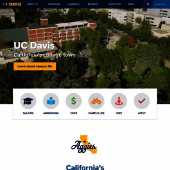 Ucdavis.edu thumbnail