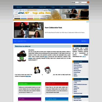 Ucitel.net thumbnail