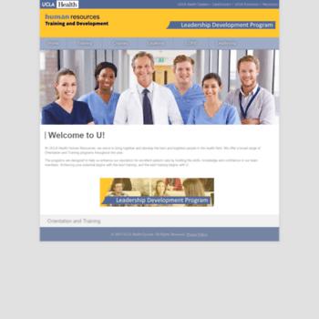 uclahealthtraining org at WI  UCLA Health - Human Resources