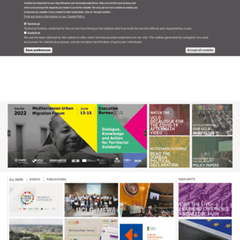 Uclg.org thumbnail