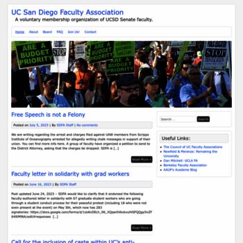 Ucsdfa.org thumbnail