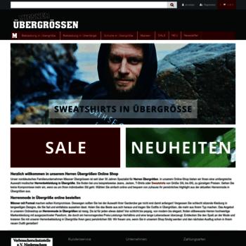 Uebergroessen-miesner.de thumbnail