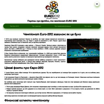 Uefaeuro2012.donetsk.ua thumbnail