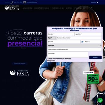 Ufasta.edu.ar thumbnail